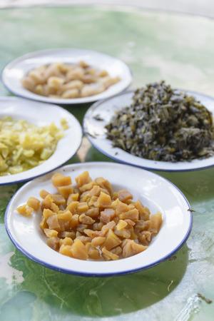 pickled: Pickled turnip
