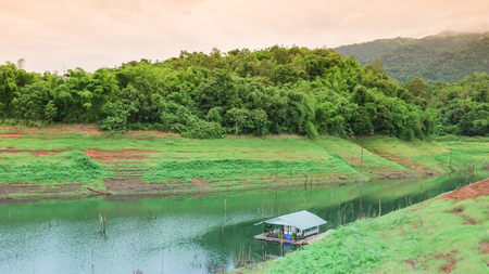 everglades national park: Pom Pee View Point in Khao Laem National Park Kanchanaburi, Thailand