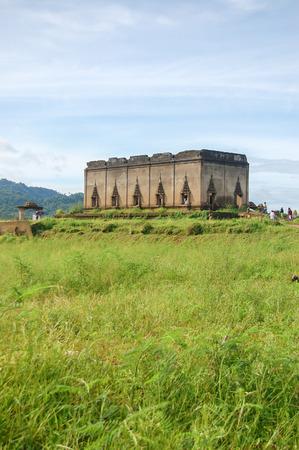 wiwekaram: Wat Wang Wiwekaram at Sangkhlaburi District, Kanchanaburi Province