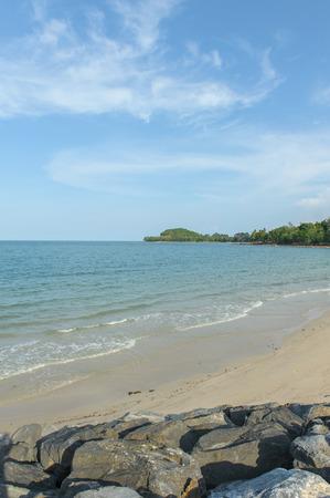 nakhon: Tropical sea beach in Nakhon Si Thammarat, Thailand