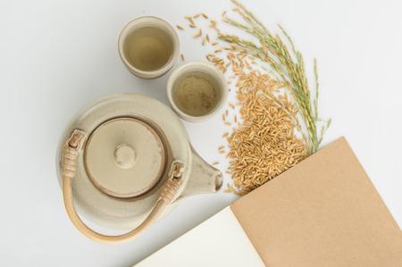 chinese teapot: Rice tea