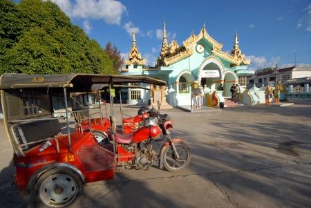 motorizado: Triciclo motorizado para traveler.From la frontera de Thailand.Mae Sai, Chiang Rai Province municipio a Dhammayon Tachileik, Uni�n de Myanmar.