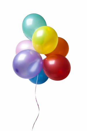 Colorful balloons photo