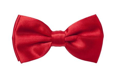 Corbata de lazo rojo