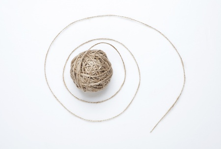 lashing: hemp rope