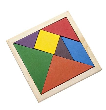 tangram: tangram Stock Photo