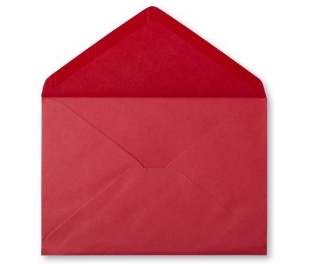 envelope with letter: busta rossa