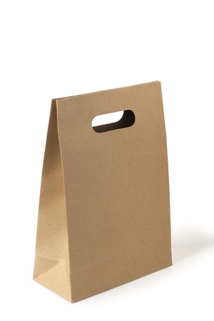 paper container: brown paper bag