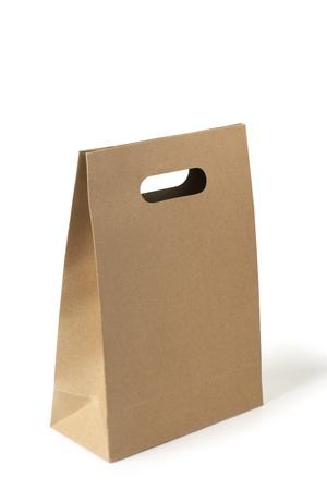 reusable: brown paper bag