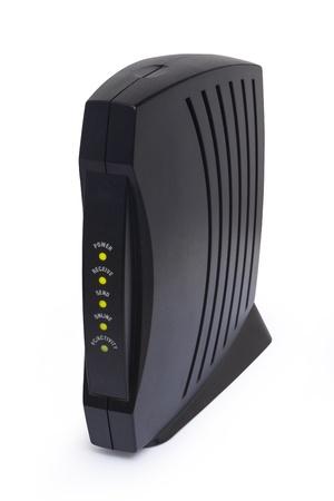 modem: cable modem Stock Photo