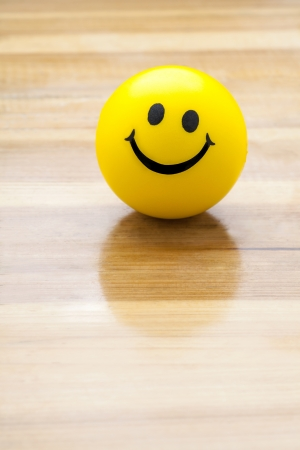 smiling face ball photo