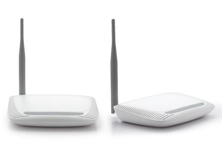 draadloze router Stockfoto