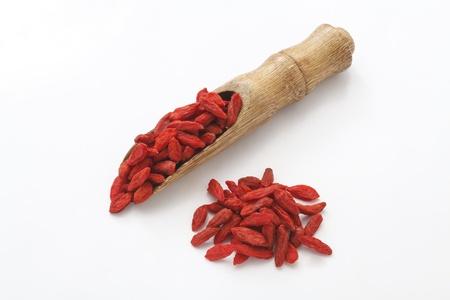 lycium: red dried goji berries