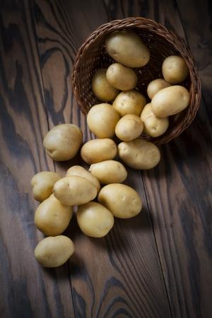 raw potato: potatoes Stock Photo