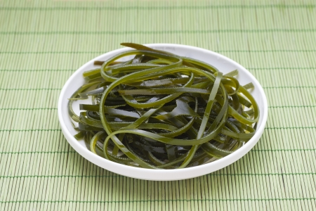 alga: wakame seaweed