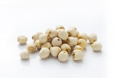 Lotus seeds Reklamní fotografie