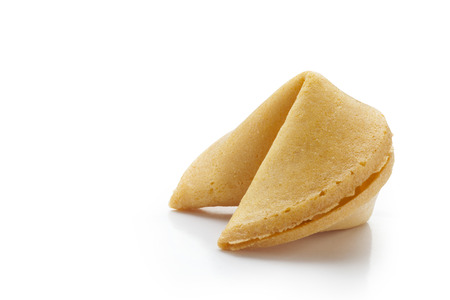 Fortune cookies en fondo blanco  photo