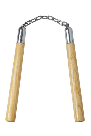 defensa personal: Nunchaku de madera