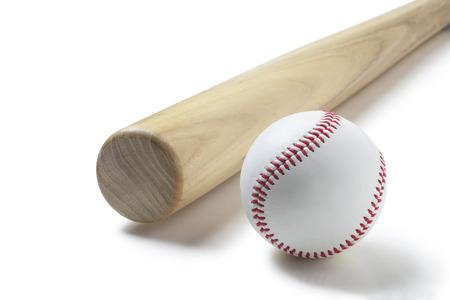 murcielago: béisbol y un bate de béisbol