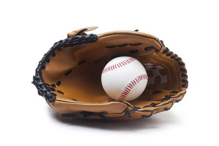 guante beisbol: Beisbol guante y pelota