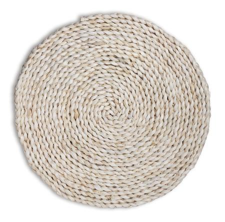 breathable: straw cushion Stock Photo