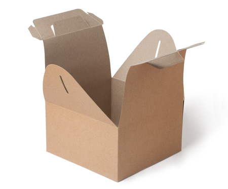 kraft paper box photo