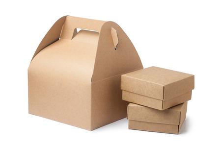 크래프트 종이 상자 스톡 콘텐츠 - 30079191