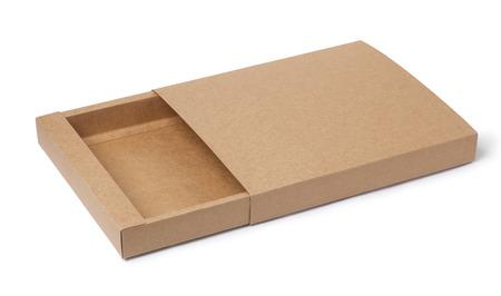 empty carton Stockfoto