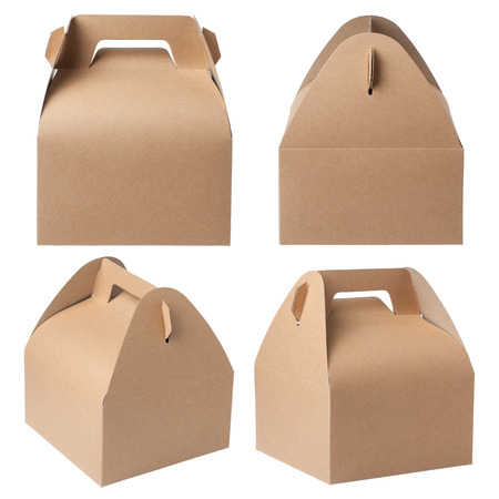 kraft: kraft paper box