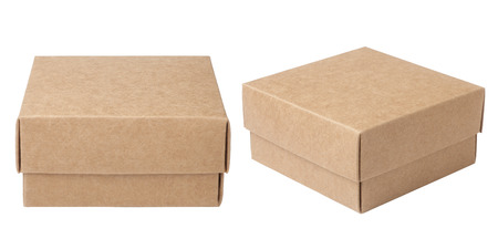 closed box: Cardboard box Stock Photo