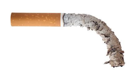 impotent: Burned cigarette, Men s Health Concept Stock Photo