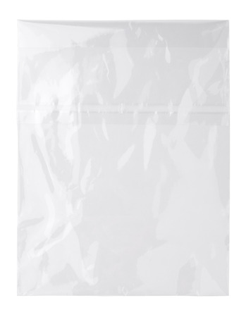 transparent plastic bag Stock Photo