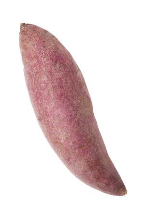 sweet potato: Sweet potato isolated on white background