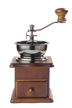 Antikes Kaffeemühle Standard-Bild