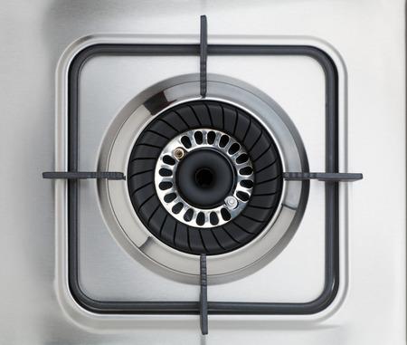 stovetop: Gas stove Stock Photo