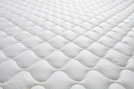 sleeping pad: Background of comfortable mattress Stock Photo