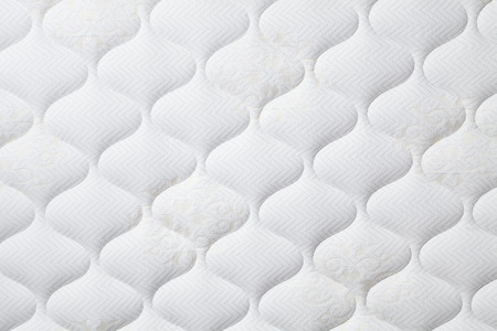 Background of comfortable mattress Stock Photo