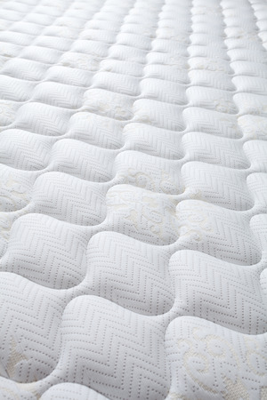 Background of comfortable mattress Foto de archivo