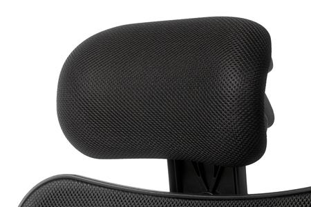 headrest: Office chair headrest, Close-up.