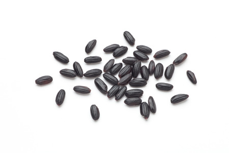 black rice Standard-Bild