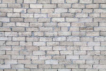 Gray brick wall texture background