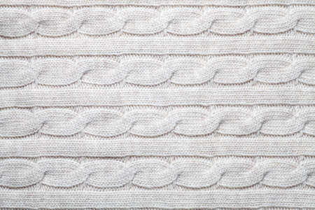 Knit sweater fabric texture background. Close-up. 版權商用圖片