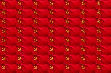 soviet flag: Soviet flag for background