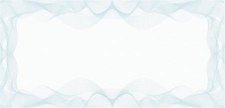 바우처, 상품권, 쿠폰 또는 지폐의 배경