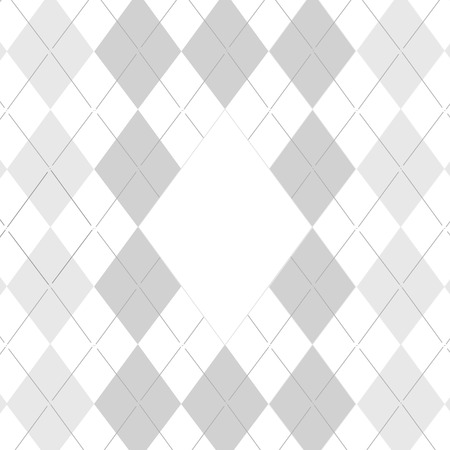Traditional fabric golf pattern, illustration on white