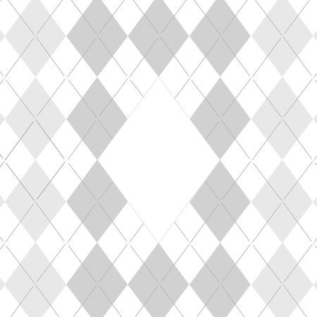 전통적인 패브릭 골프 패턴, 화이트 그림