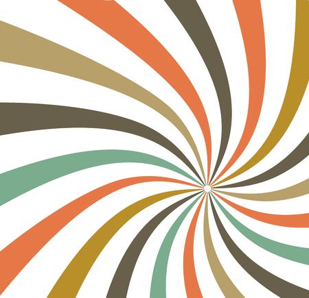 배경 색상 복고풍 줄무늬 일러스트