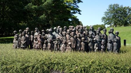 send to prison: Children of Lidice - memorial