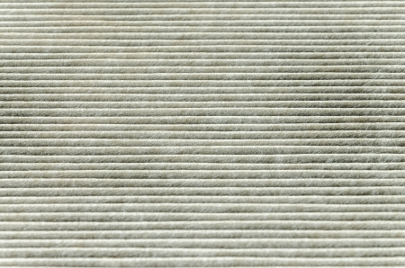 texture of car cabin filter horizontal photo