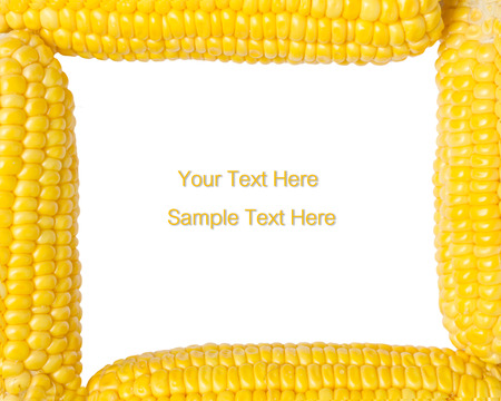 Photo of yellow corn background, abstract backgrounds photo